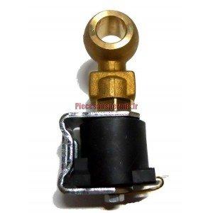 Engine stop solenoid motor