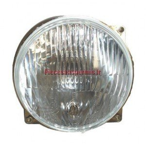 Front headlight aixam