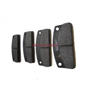 4 microcar rear brake pads
