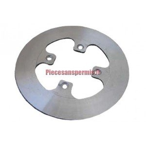 Titanium rear brake disc