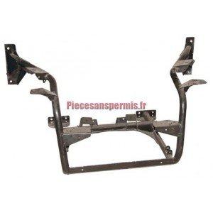 Cradle engine microcar