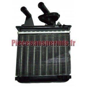 Radiator heating aixam