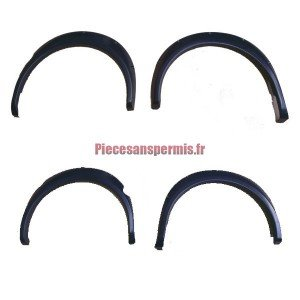 Complete wing extension kit