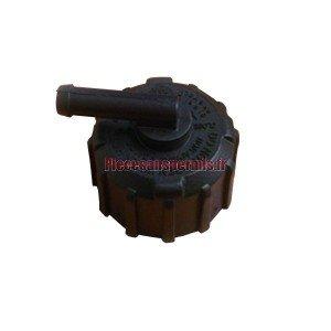 Cap radiator microcar
